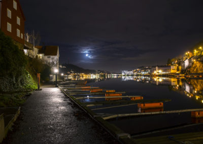 7. Helge Aker - Kittelsbukt by night (11 poeng)