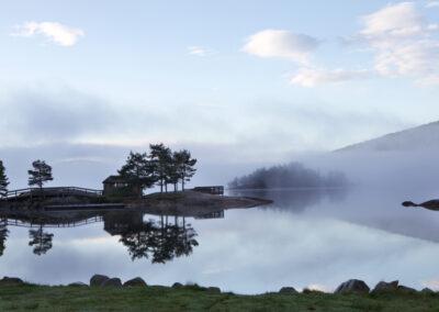 Arvid Løite - Morgenstund på Byglandsfjord