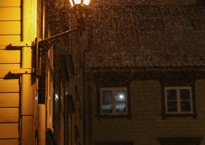 William Alexander Paul - Ensom lykt i vinternatt