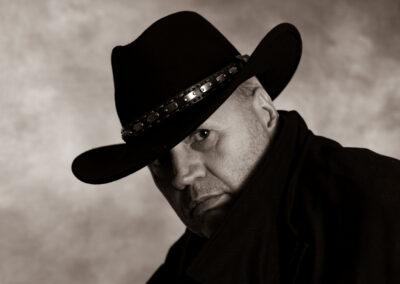 Antatt: Vidar Siljeholm - The man in black